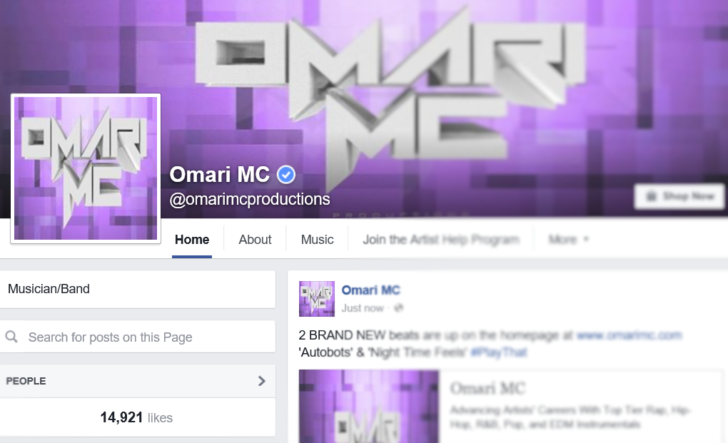 How To Get Your Music Page Verified On Facebook