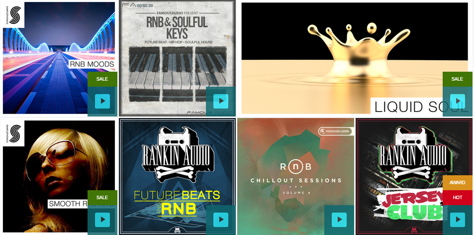 R&B & Soul Drum Kits and Sound packs