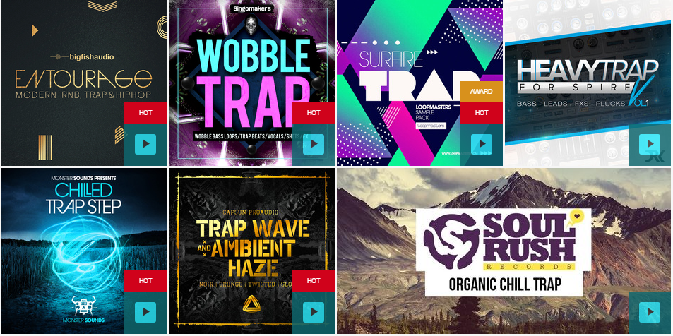 Trap Drum Kits & Sound Packs
