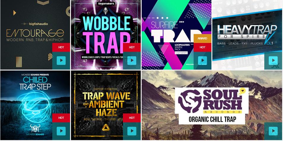 Trap Drum Kits & Sound Packs