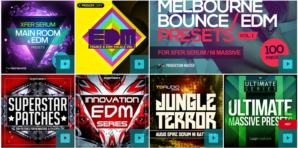 EDM Drum Kits and Sound packs