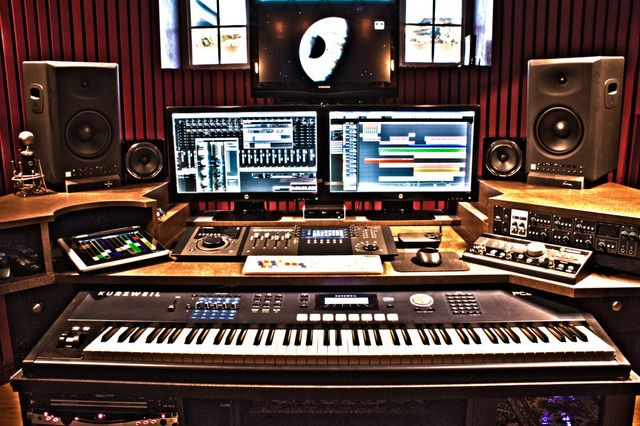 Fine How To Set Up The Ultimate Audio Home Recording Studio Omari Mc Largest Home Design Picture Inspirations Pitcheantrous