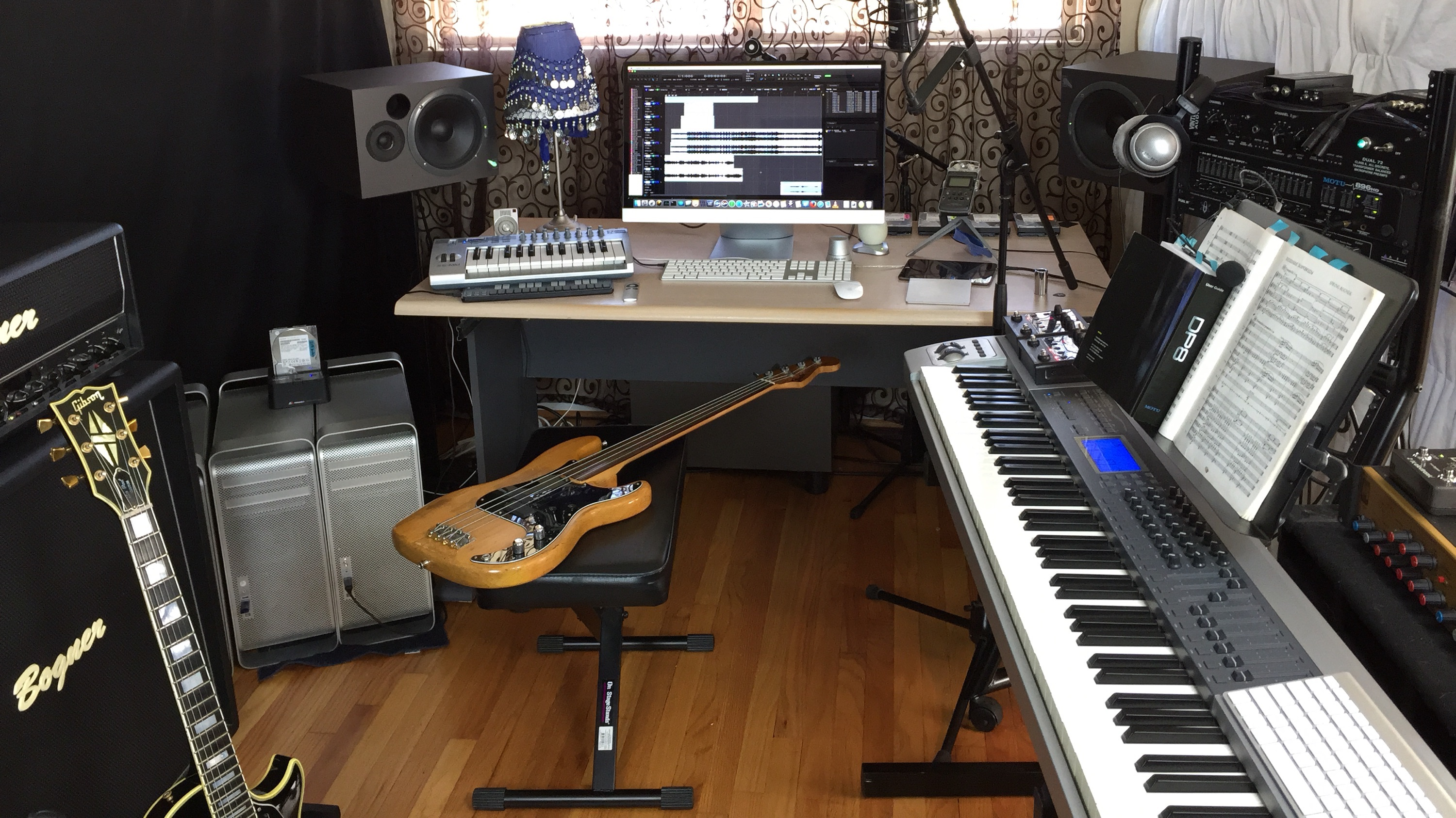 Wondrous How To Set Up The Ultimate Audio Home Recording Studio Omari Mc Largest Home Design Picture Inspirations Pitcheantrous
