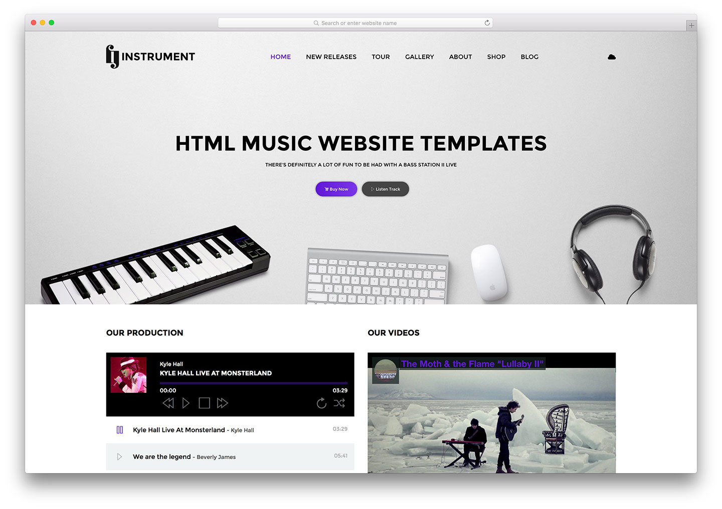 10 absolute best strategies to sell your music online for Free html product page template