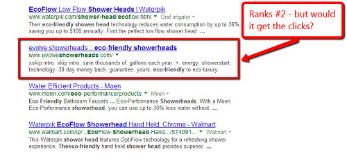 poor seo meta description