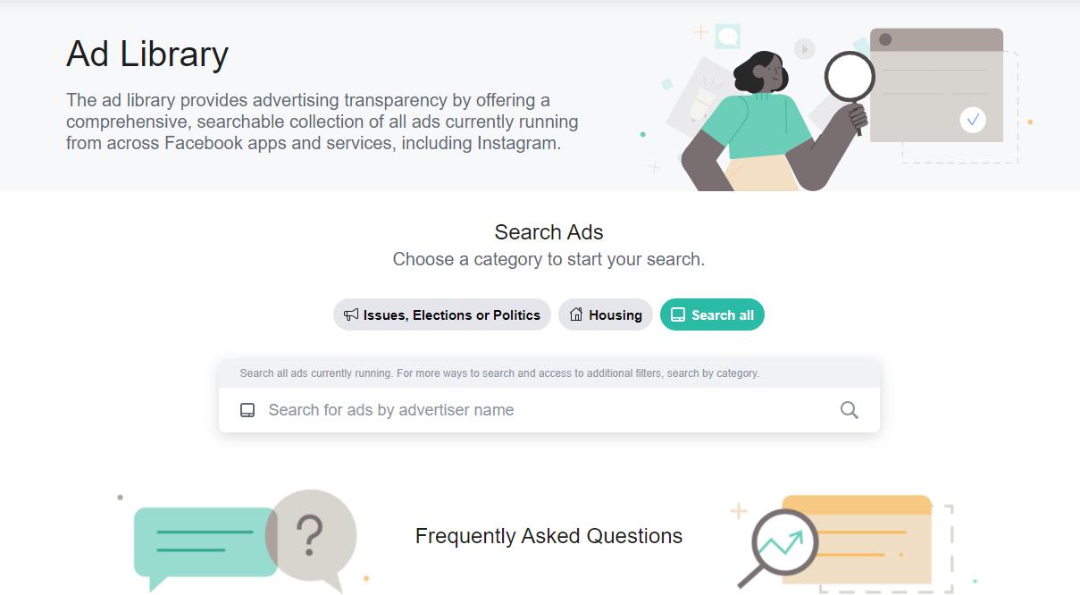 Facebook Ad Library